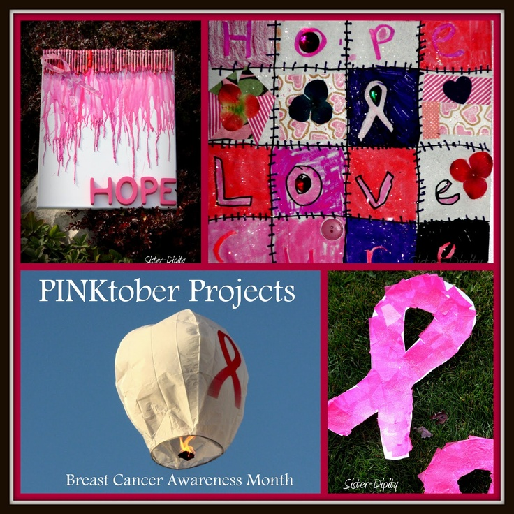 Pinterest Breast Cancer Awareness Crafts
