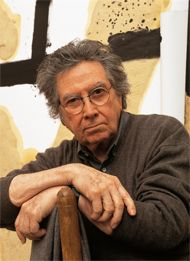 Antoni Tàpies, a largely self-taught Spanish abstract painter whose seductive, tactile surfaces, often scratched with mysterious graffiti-like marks, made use of unconventional materials like marble dust, ground chalk, sand and earth, died on Monday in Barcelona. He was 88...  http://www.nytimes.com/2012/02/07/arts/design/antoni-tapies-spanish-abstract-painter-dies-at-88.html?_r=1&pagewanted=all?src=tp