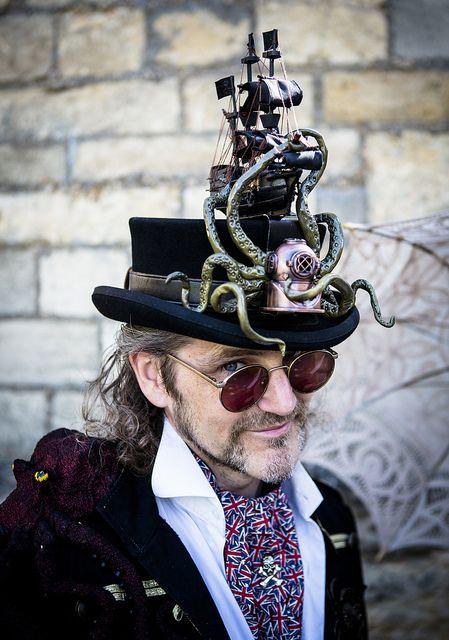 Now THAT'S an Easter Bonnet! Kraken Millinery by SoulStealer.co.uk, via Flickr - #SteamPUNK - ☮k☮