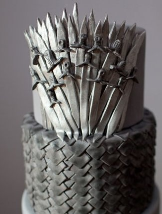 Wow! This Game of Thrones cake looks amazing!