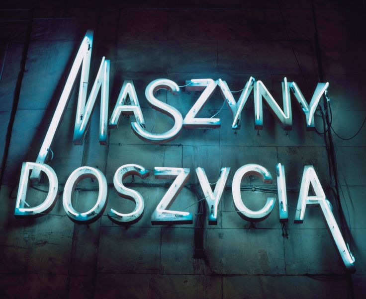 Typography - 'Ilona Karwińksa's images of communist-era neon preserve a unique and significant moment in Poland's history.'