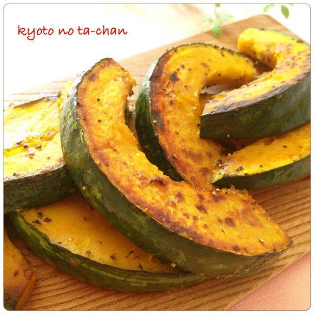 フライパンで作る「かぼちゃだけレシピ」が副菜に大活躍!
