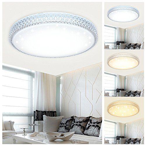 Vingo Starry Sky Led Ceiling Light Ceiling Lighting Living Room Lamp 60w Rund Farbwechsel