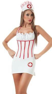 Строгая медсестра костюм