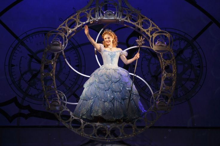 Wicked: Hayley Podschun as Glinda - she was SO AMAZING as Glinda! And she's from KC!