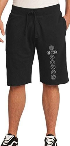 Yoga Clothing for You Mens 7 Chakras Shorts with Pockets