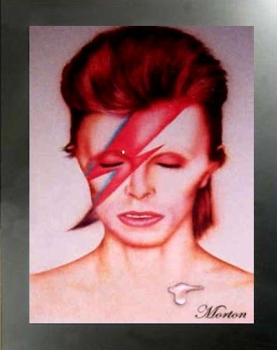 #airbrush #portraits #dvds #david #bowie #techniques #howto #school #flesh #eyes #nose #hair #fine art
