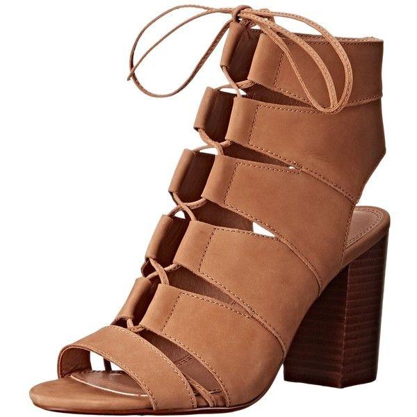 Splendid Women's SPL-Banden Gladiator Sandal ($158) ❤ liked on Polyvore featuring shoes, sandals, roman sandals, gladiator heel sandals, heeled sandals, splendid shoes and gladiator sandals