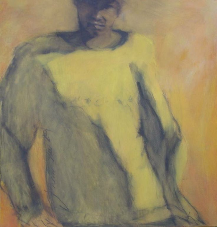 worker3 - painting by johann slee