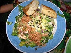 Theme Restaurants Copycat Recipes: Rainforest Cafe China Island Chicken Salad