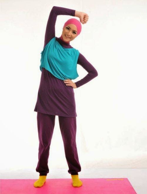 Baju Senam Muslim Elzatta Trendy