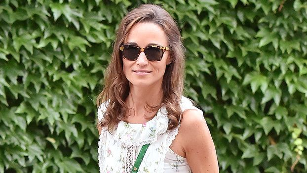 Pippa Middleton Takes a Style Cue from Kate Middleton for the Wimbledon Final