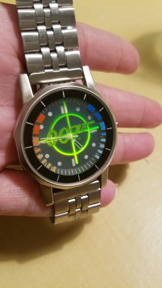 Nintendo Power Goldeneye 007 Genuine Hologram watch