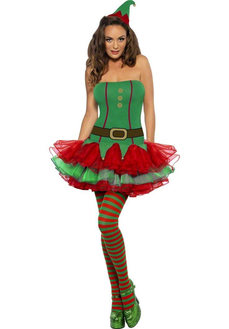 Fever Elf Tutu Costume, Ladies Christmas Fancy Dress - Christmas Costumes at Escapade™ UK - Escapade Fancy Dress on Twitter: @Escapade_UK