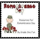 This is a packet of Canadian Remembrance Day activities for primary students.  The packet includes an original Remembrance Day poem with handout an...