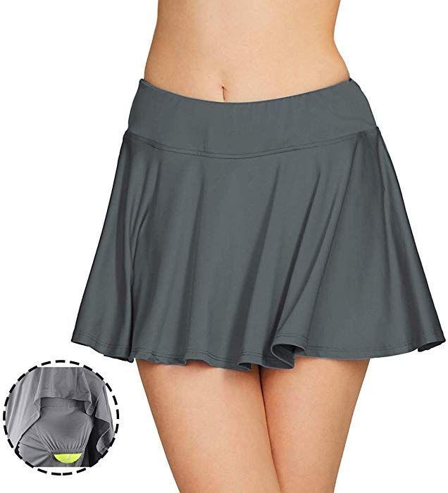 Amazon.com: Cityoung Women Running Golf Skort Plus Size Pocket Girl Athletic  Tennis Skirt Shorts Underneath… | Athletic skirts, Golf pants women, Golf  outfits women