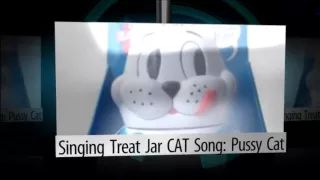 Singing Treat Jar CAT Song: Pussy Cat - YouTube
