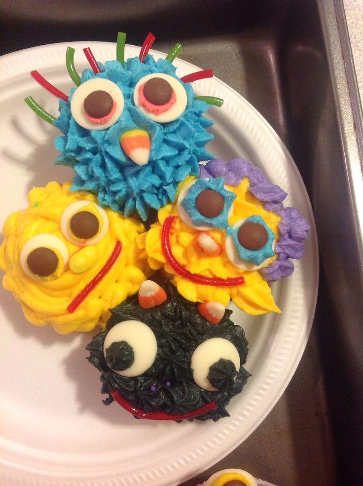 Cupcake monster jam!