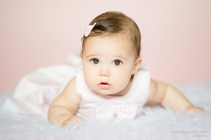 Ensaio fotogr fico de beb menina de 6 meses rosa - Bebe de 6 meses ...