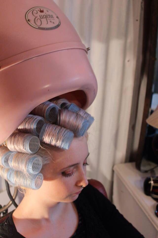 Let hair roller bondage you