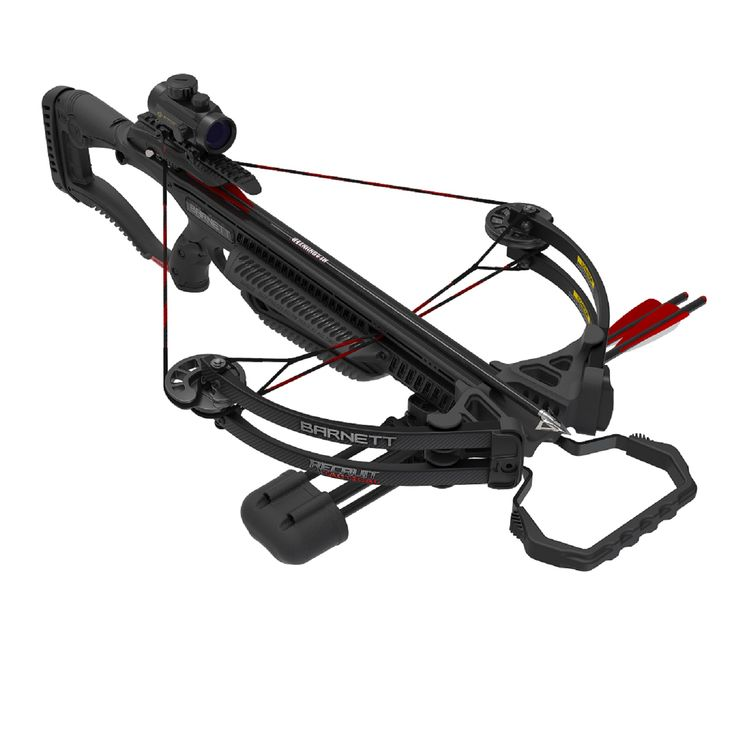Barnett Recruit Tactical Compound Crossbow Package w/2 Bolts