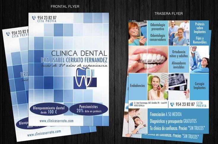 Diseño publicitario para clínica dental