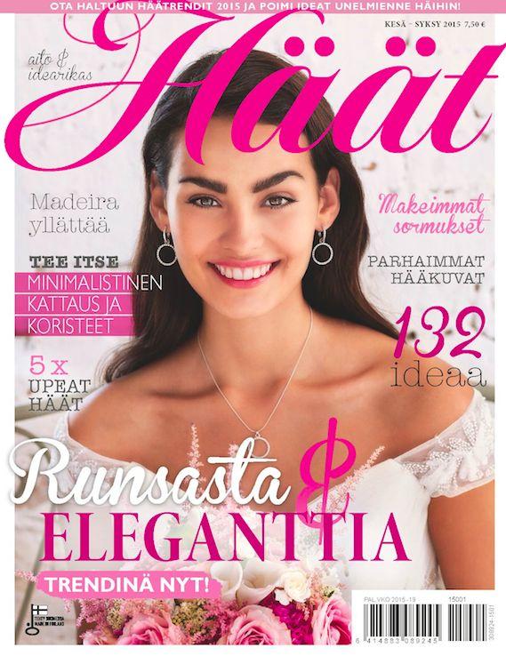 Kulmala featured in Häät summer-fall 2015 issue |http://www.haat.fi/haat-lehti/ #häätlehti