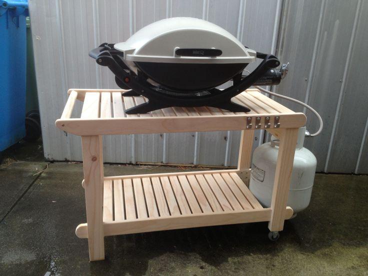 bbq trolley my work pinterest. Black Bedroom Furniture Sets. Home Design Ideas