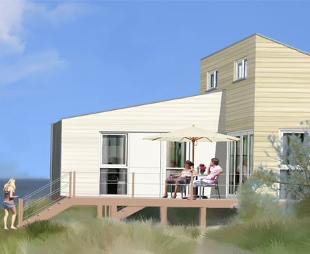 Slaapstrandhuisje   Roompot Beach Houses - Kamperland Zeeland