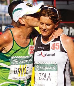 Bruce Fordyce & Zola Budd