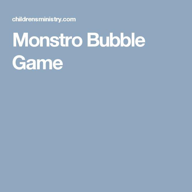 Monstro Bubble Game