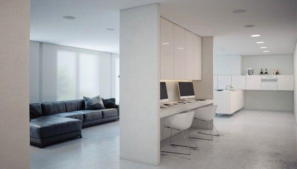 minimalist workspace