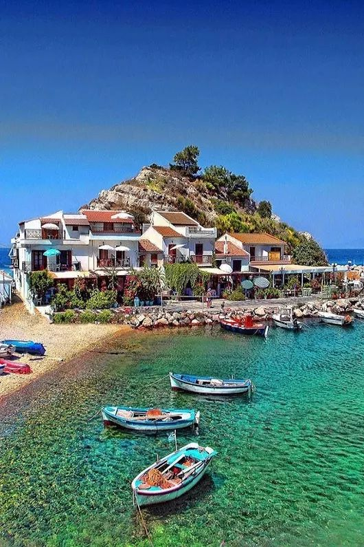 """Levanzo Island, Sicily, Italy."" Levanzo (Sicilian Lèvanzu) Italy is an island belonging to the archipelago of Egadi islands in Sicily."