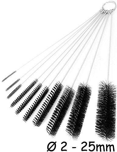 Home Tools.EU®–Juego de cepillos de limpieza de botellas, para botellas, joyas, tuberías, pajitas, boquillas, modelo Diseño | 2mm hasta 25mm, 10unidades) #Home #Tools.EU®–Juego #cepillos #limpieza #botellas, #para #joyas, #tuberías, #pajitas, #boquillas, #modelo #Diseño #mm #hasta #mm, #unidades)