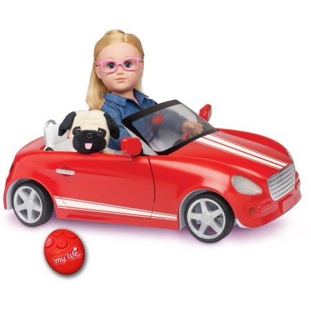 My Life As Remote Control Car For 18 Inch Dolls Red