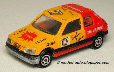 Majorette No 281 210 Peugeot 205 GTI