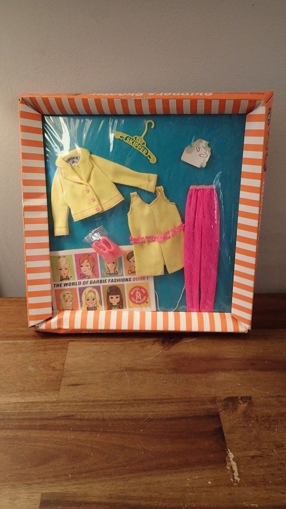 Vintage Mattel Skipper & Skooter Junior Fashion Clothes #1961 Real Sporty Sealed #Mattel