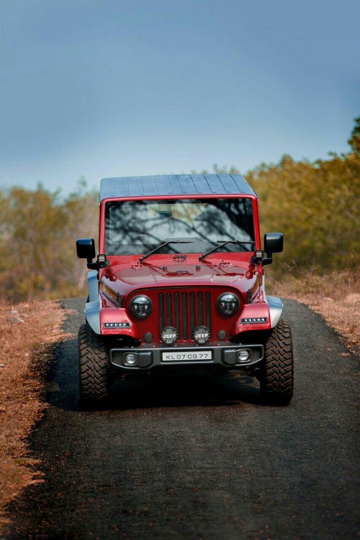 Mahindra Thar CRDi 4x4 modified into Jeep