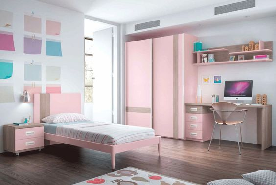 decorar dormitorios juveniles low cost