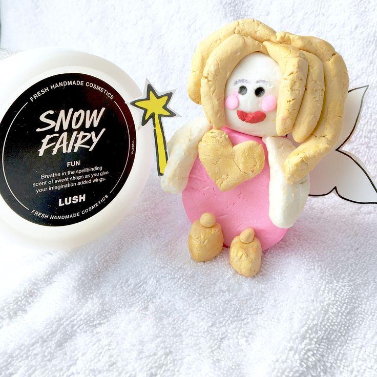 LUSH snow fairy fun! Loving the smell. 😍 #lush #lushlover #lushproduct #lushfun #lushsnowfairyfun #snowfairy #snowfairyfun #lushfun