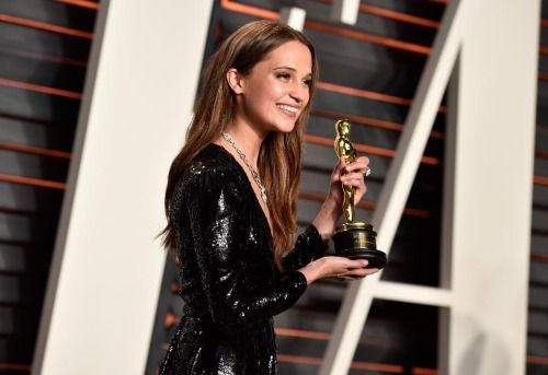 Alicia Vikander Cast As Lara Croft Shows The 'Tomb... #AliciaVikander: Alicia Vikander Cast As Lara Croft Shows The 'Tomb… #AliciaVikander