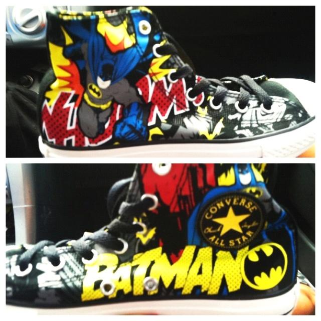 <3 my Batman converse :-)