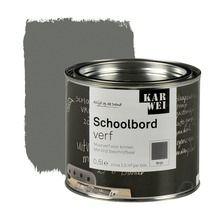 18,50 voor 5m2 KARWEI schoolbordverf mat grijs 500 ml
