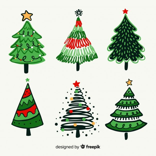 Download Christmas Trees Set For Free Christmas Tree Set Christmas Tree Christmas