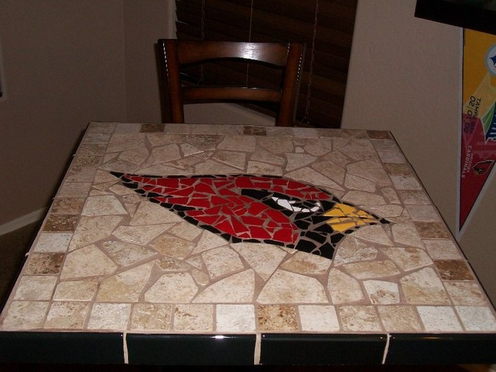 Arizona Cardinal Football pub table-Def a great phx table for sure