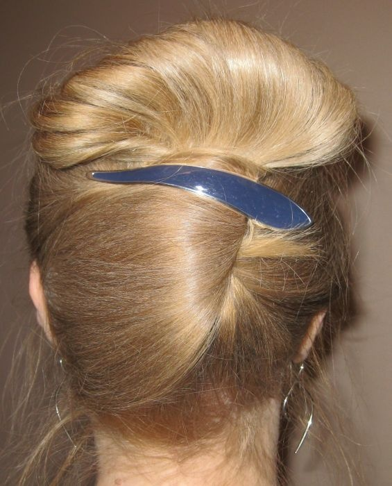 535 best hair buns images on pinterest hairstyles braid and easy holiday updo pmusecretfo Images
