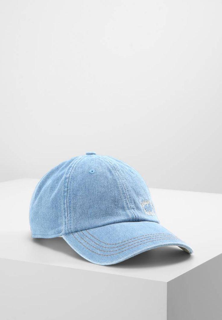 Jack & Jones. JJVBLUE COLLAR WORKER - Cap - light blue. Outer fabric material:100% cotton. Care instructions:Hand wash only. Fabric:Denim