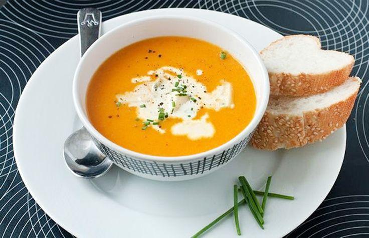 Тыквенный суп пюре - рецепт.
