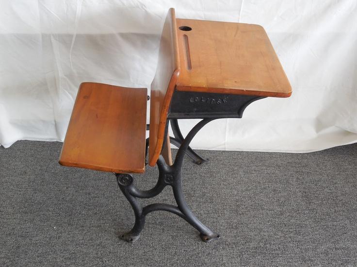 $75.00 Vintage School Desk. Eclipse   T. Kundtz Of Cleveland, Ohio