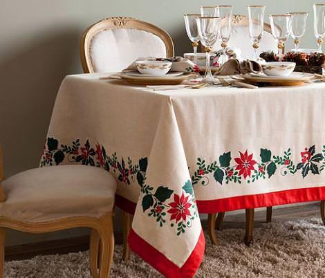 Mantel de Navidad tradicional